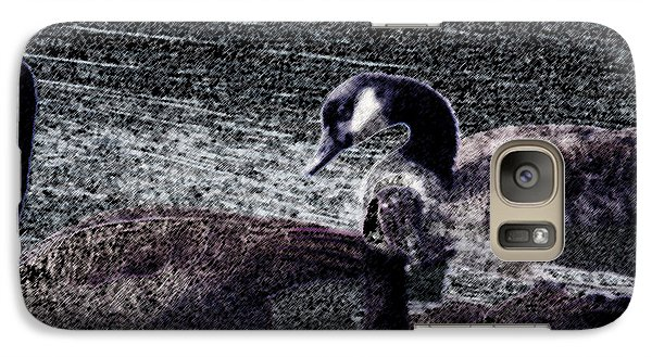 Galaxy Case featuring the photograph Right Behind Ya   by Lesa Fine