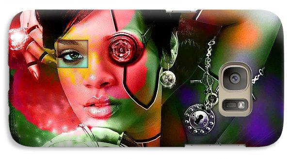 Rihanna Over Rihanna Galaxy S7 Case