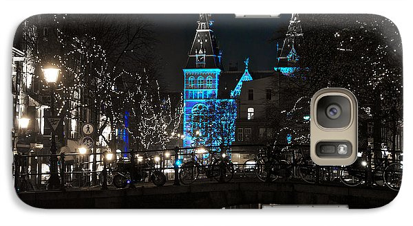 Galaxy Case featuring the photograph Rijksmuseum In Blue by Jonah  Anderson