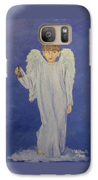 Galaxy Case featuring the painting Ring-a-ding by Wendy Shoults