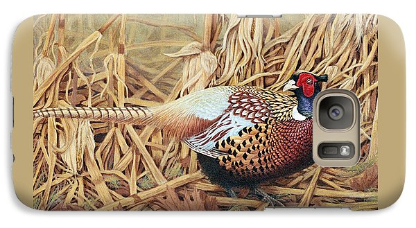 Ring-necked Pheasant Galaxy S7 Case