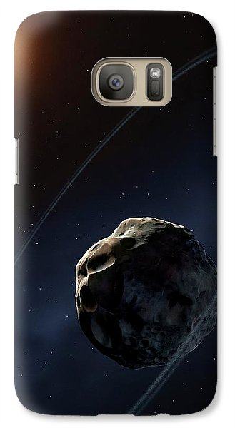 Ringed Asteroid Chariklo Galaxy Case by Mark Garlick