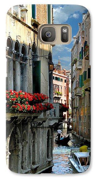 Galaxy Case featuring the photograph Rio Menuo O De La Verona. Venice by Jennie Breeze