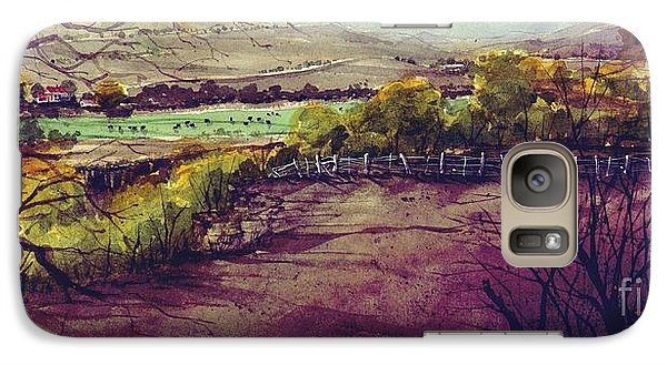 Galaxy Case featuring the painting Rio Penasco Ranch by Tim Oliver