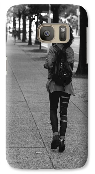 Galaxy Case featuring the photograph Ripped Jeans by Dorin Adrian Berbier