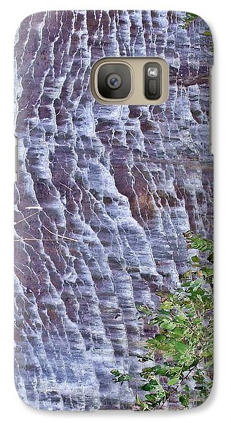 Galaxy Case featuring the photograph Ripples In Stone by Christian Mattison