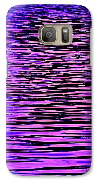 Galaxy Case featuring the photograph Ripples Xtreem by Andy Heavens