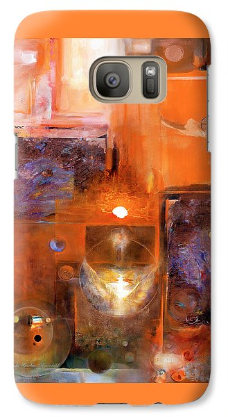 Galaxy Case featuring the painting Rise And Shine 1 by Brooks Garten Hauschild