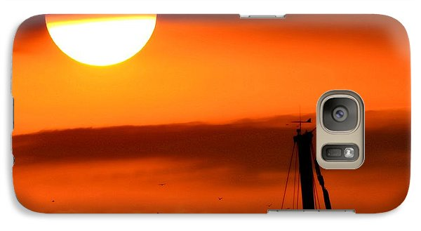 Galaxy Case featuring the photograph Rise And Shine by Deena Stoddard