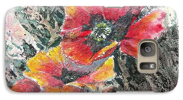Galaxy Case featuring the painting Rising Above by Carolyn Rosenberger