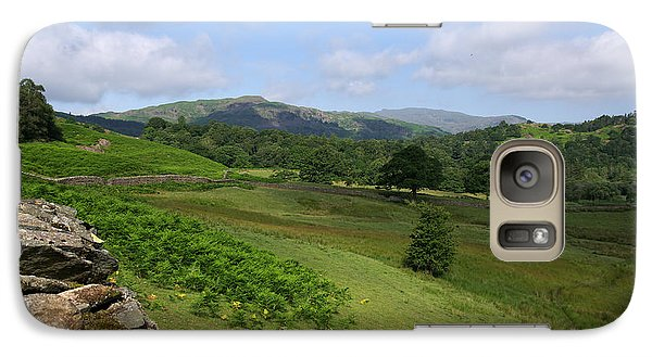Galaxy Case featuring the photograph Rising From Rydal Cumbria by Graham Hawcroft pixsellpix