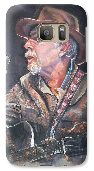 Galaxy Case featuring the mixed media Rising Out Of The Sands Of Time by Peter Suhocke