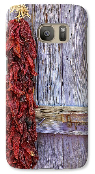 Galaxy Case featuring the photograph Ristra by Lynn Sprowl