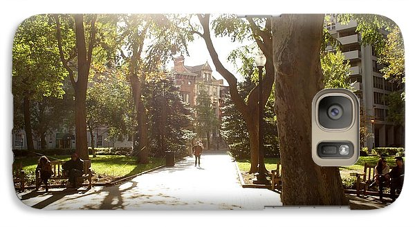 Galaxy Case featuring the photograph Rittenhouse In The Sun by Christopher Woods