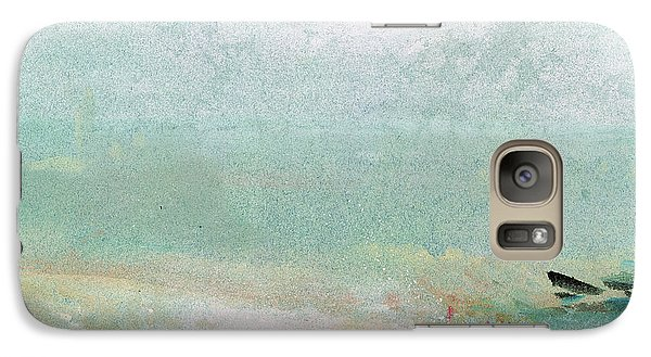 Abstract Galaxy S7 Case - River Bank by Joseph Mallord William Turner