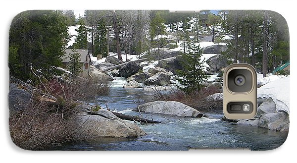 Galaxy Case featuring the photograph River Bend  by Bobbee Rickard