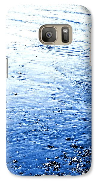 Galaxy Case featuring the photograph River Blue by Robyn King