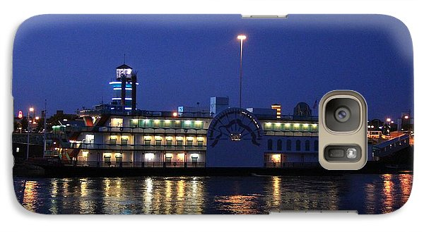Galaxy Case featuring the photograph River Boat Casino by Yumi Johnson
