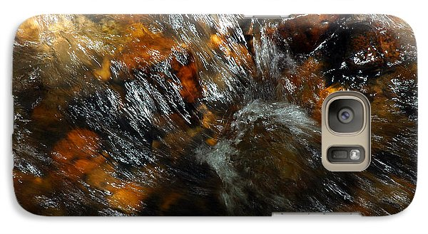 Galaxy Case featuring the photograph River Color by Allen Carroll