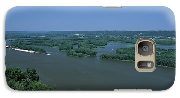 Marquette Galaxy S7 Case - River Flowing Through A Landscape by Panoramic Images