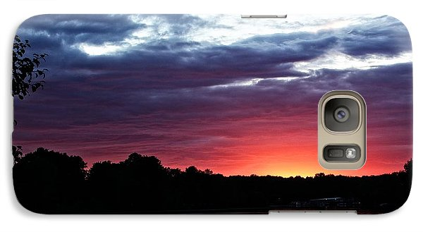 Galaxy Case featuring the photograph River Glow by Dave Files
