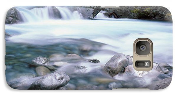 River, Hollyford River, Fiordland Galaxy Case by Panoramic Images