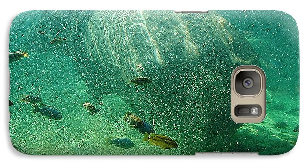 Galaxy Case featuring the photograph River Horse by David Nicholls
