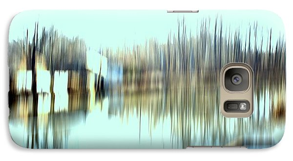 Galaxy Case featuring the mixed media River Mill 2 by Terence Morrissey