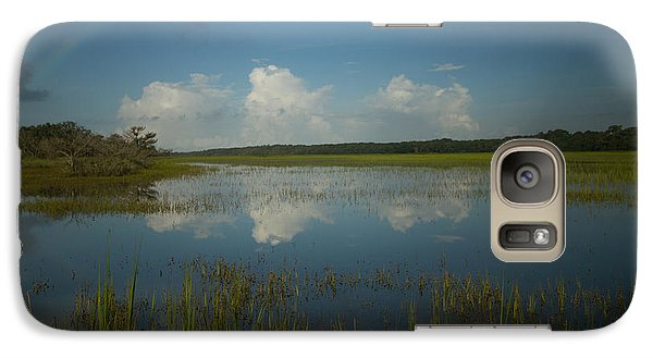 Galaxy Case featuring the photograph River Of Grass by Doug McPherson