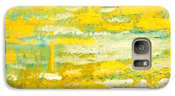 Galaxy Case featuring the painting River Of Praise by Donna Dixon