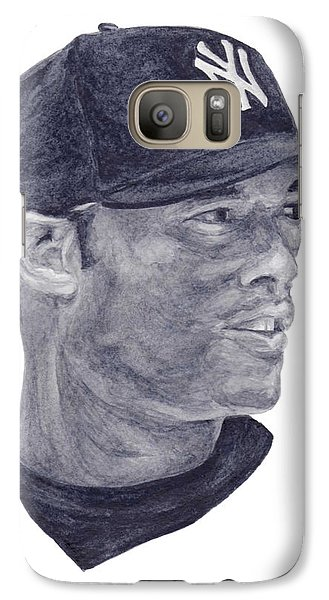 Galaxy Case featuring the painting Rivera by Tamir Barkan