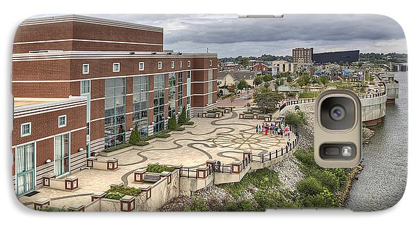 Galaxy Case featuring the photograph Riverpark Center And Smothers Park Owensboro Ky by Wendell Thompson