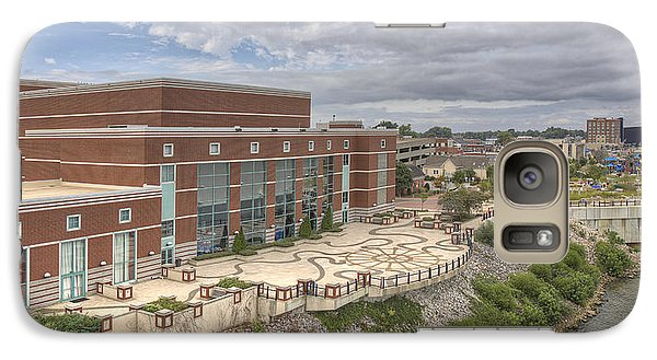Galaxy Case featuring the photograph Riverpark Center And Smothers Park by Wendell Thompson