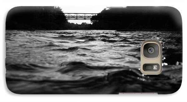 Galaxy Case featuring the photograph Rivers Edge by Michael Krek