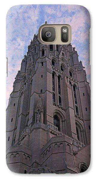 Harlem Galaxy S7 Case - Riverside Church by Stephen Stookey