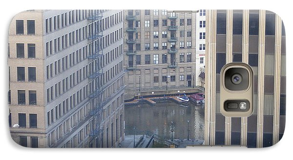 Galaxy Case featuring the photograph Riverwalk by Nancy Kane Chapman