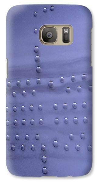 Galaxy Case featuring the photograph Riveting by Steven Milner