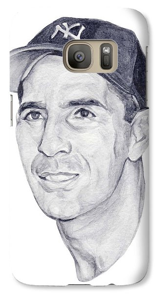 Galaxy Case featuring the painting Rizzuto by Tamir Barkan