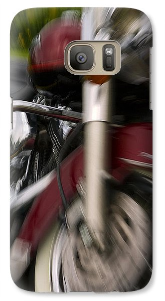 Galaxy Case featuring the photograph Road King by Timothy McIntyre