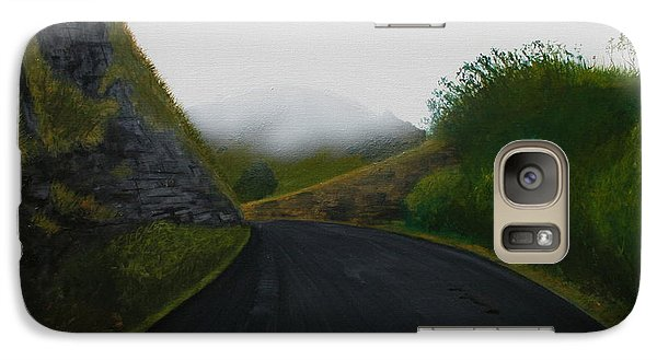 Galaxy Case featuring the painting Road Near Gresford Nsw by Tim Mullaney