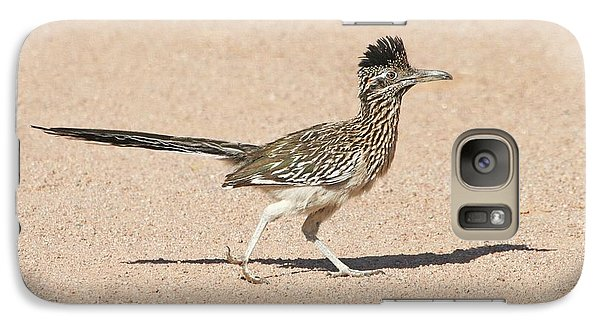 Galaxy Case featuring the photograph Road Runner On The Road by Tom Janca