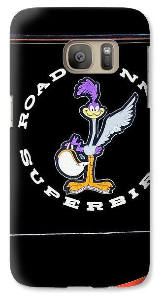 Road Runner Superbird Emblem Galaxy Case by Jill Reger