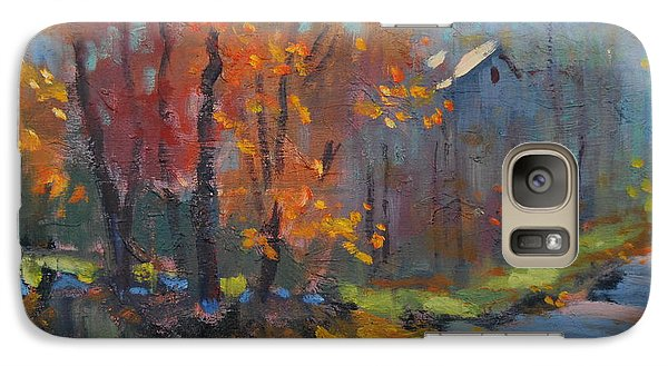 Galaxy Case featuring the painting Road South by Len Stomski