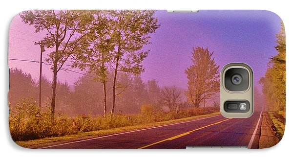 Galaxy Case featuring the photograph Road To... by Daniel Thompson