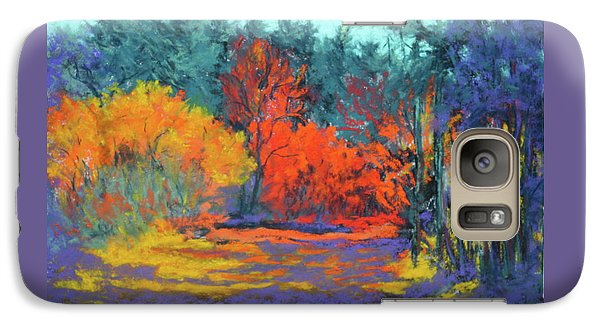 Galaxy Case featuring the painting Road To Deer Creek by Nancy Jolley