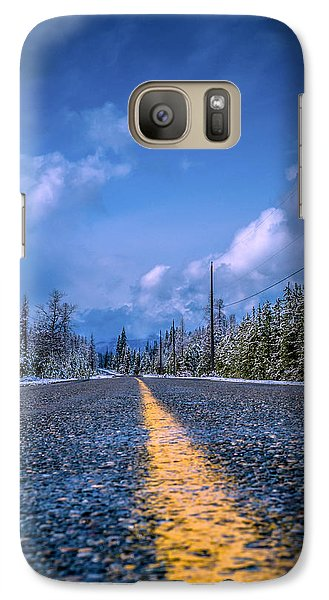 Galaxy Case featuring the photograph Road To Home by Rob Tullis