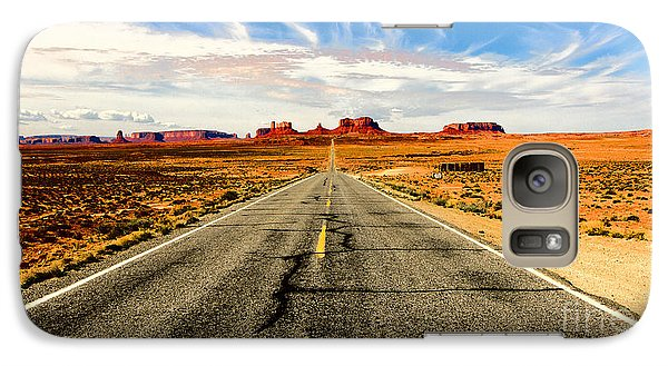 Galaxy Case featuring the photograph Road To Navajo by Jason Abando