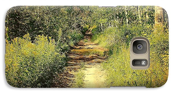 Galaxy Case featuring the photograph Road To Nowhere by Susan Crossman Buscho