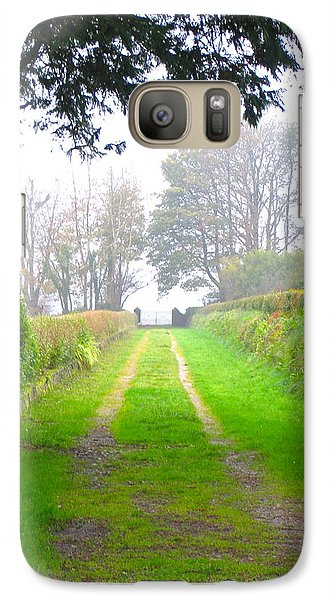 Galaxy Case featuring the photograph Road To Nowhere by Suzanne Oesterling