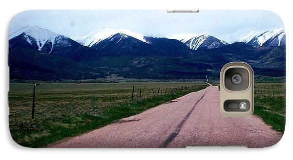 Galaxy Case featuring the photograph Road To Westcliffe by Carlee Ojeda